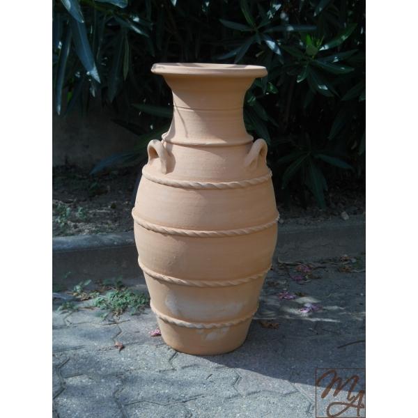 Anfora mediterranea for Anfore terracotta da giardino