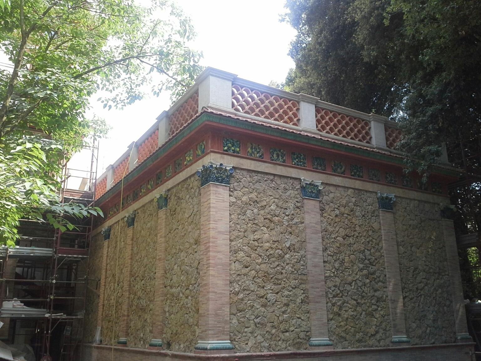 Frangisole in terracotta