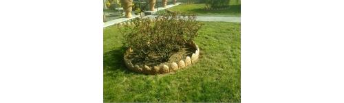 Elementi da giardino in terracotta